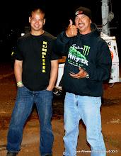 """Photo: Keane Lee on the right,""""winner, winner, chicken dinner!"""""""