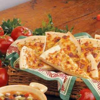 Italian Bread Wedges.