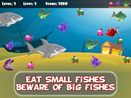 ud83dudc20 Hungry Piranha & Shark Fish screenshots 7