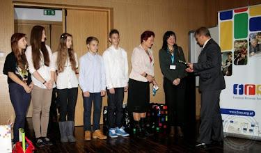 Photo: Zakończenie Konkursu eTwinning w Podlaskiem - 2 miejsce projekt z ZSS nr 1 (zdj. Wrota Podlasia)