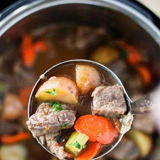 Instant Pot Pressure Cooker Beef Stew Recipe