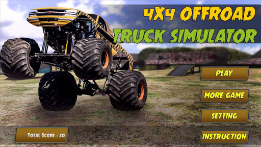 4x4 offroad truck simulator