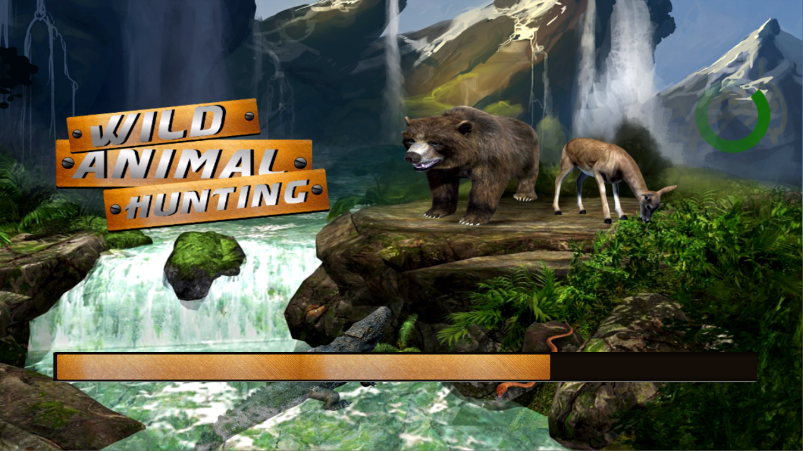 Screenshots of Wild Animal Hunting Game for iPhone