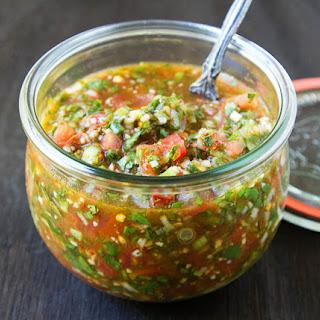 Pebre (Chilean Chili Salsa).