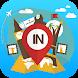 インド旅行ガイドのオフライン マップ