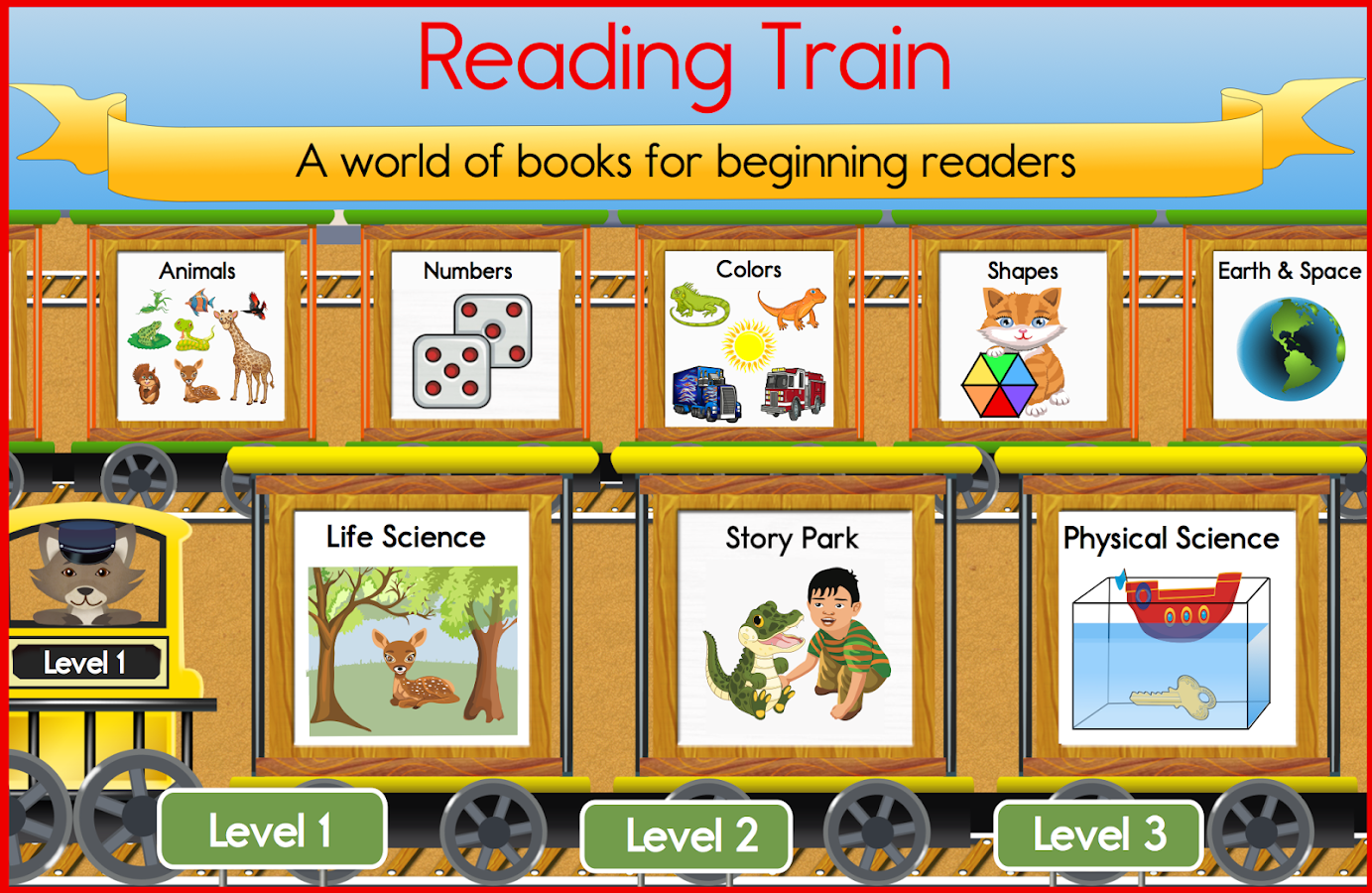 Reading Train Learn To Read- screenshot