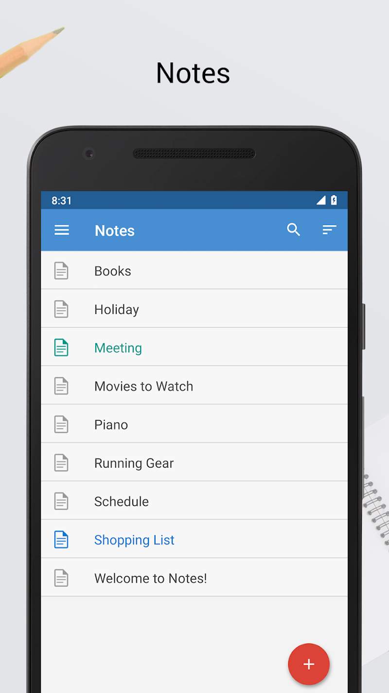 Notes Screenshot 0
