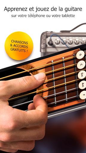 Guitare Gratuite - Accords, Chansons et Tablature fond d'écran 1