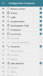 Sensors Toolbox Screenshot