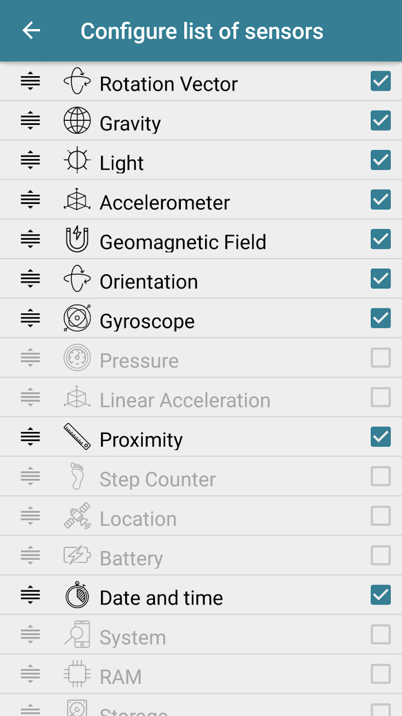Sensors Toolbox Screenshot 4