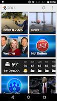 Screenshot of CBS 8 San Diego News
