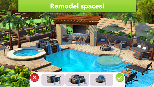 Home Design Makeover Mod Apk (Unlimited Money/Tickets) 3.3.8g 1