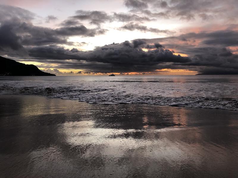 Luce riflessa sulla spiaggia di fnc