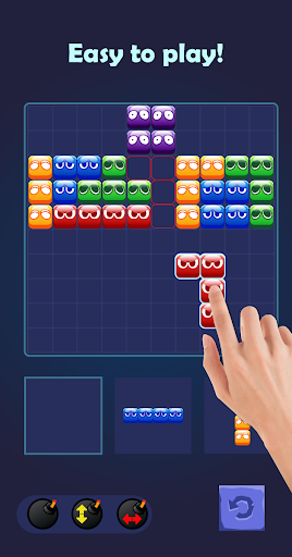 Angry Block Puzzle screenshot 1