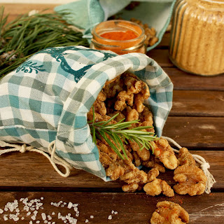 Salted Caramel Walnuts with Rosemary Recipe