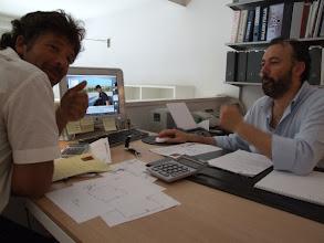 Photo: Manchmal nimmt mich Giuseppe mit zu Freunden, ...