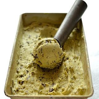 Pistachio Stracciatella Ice Cream