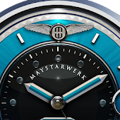 Lightblue Snake Watch Face