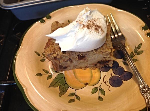 Left Over Bread Pudding W/less Sugar Recipe