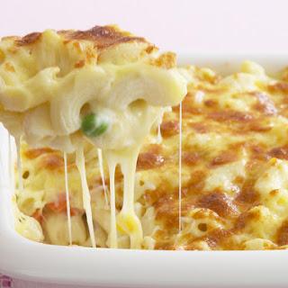 Cheesy Vegetable Pasta.