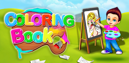 Fruits Coloring Book & Drawing Book - Kids Game APK