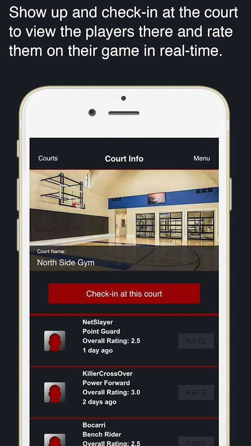 League For Basketball- screenshot