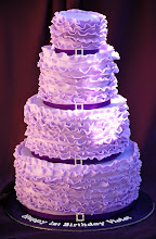 Photo: Violet's Violet Ruffle Cake by Royal Bakery (4/22/2012) View cake details here: http://cakesdecor.com/cakes/12912