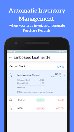 Accounting Bookkeeping - Invoice Expense Inventory 1.75 screenshots 7