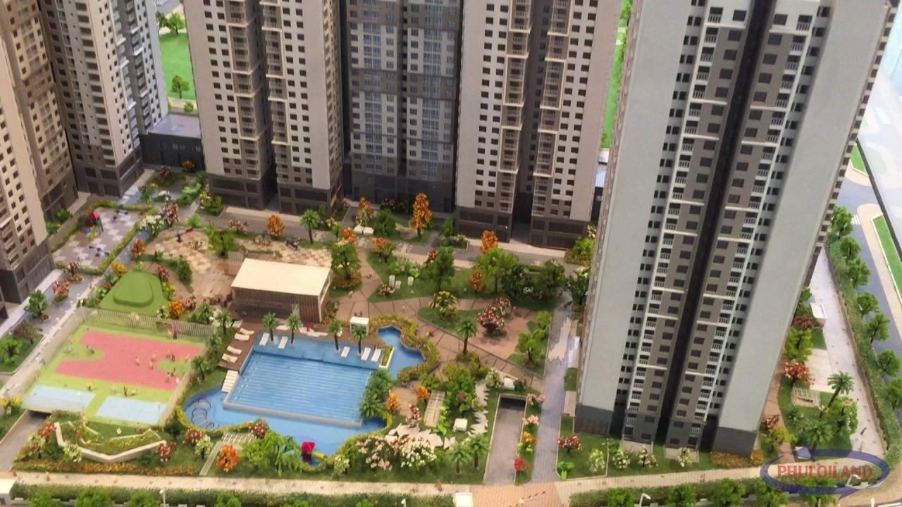 Dự án căn hộ chung cư cao cấp Saigon South Residence