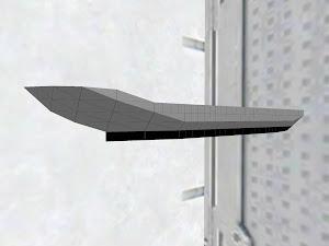Missile boat body