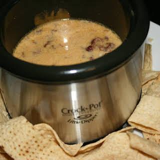 CrockPot Bacon and Cheese Dip.