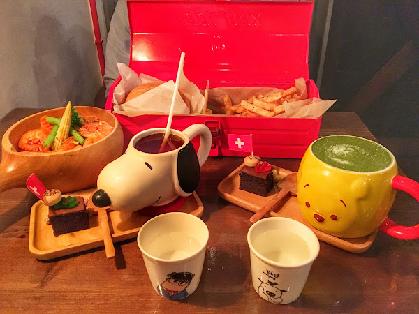 TanQ Cafe & Bar工具箱手作漢堡 卡通造型杯|捷運松江南京站 內附完整菜單
