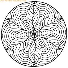 Photo: Mandala zum ausmalen