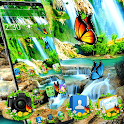 Green Beautiful Nature Forest Theme icon