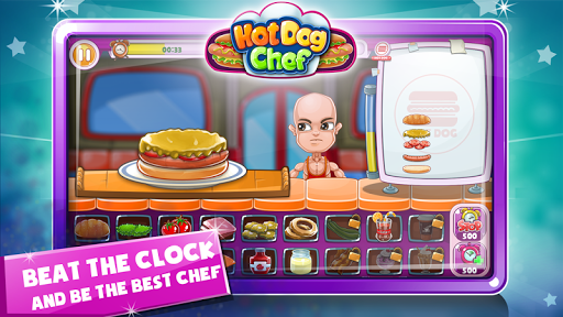 Hot Dog Chef: Cooking Rush