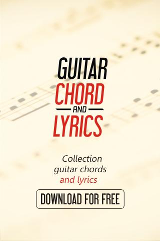 D.Lovato - Guitar Chord Lyrics