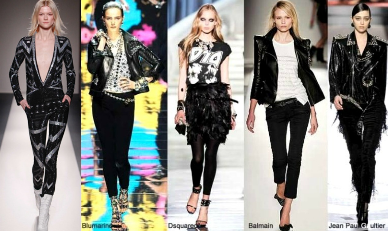 Rock And Roll Fashion Trends