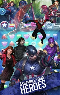 Marvel Puzzle Quest Screenshot 16