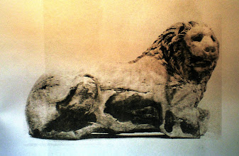 Photo: Fig. 13. Leone da Cnido, marmo. Londra British Museum.
