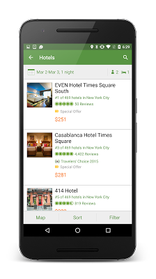 TripAdvisor Hotels Restaurants - screenshot
