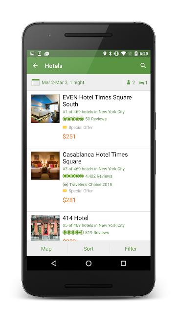#2. TripAdvisor Hotels Restaurants (Android)