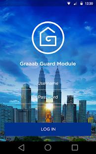 Graaab Guard App - náhled