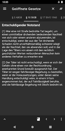 Lawdroid AT – Österreichische Gesetze und EU-Recht screenshot 8