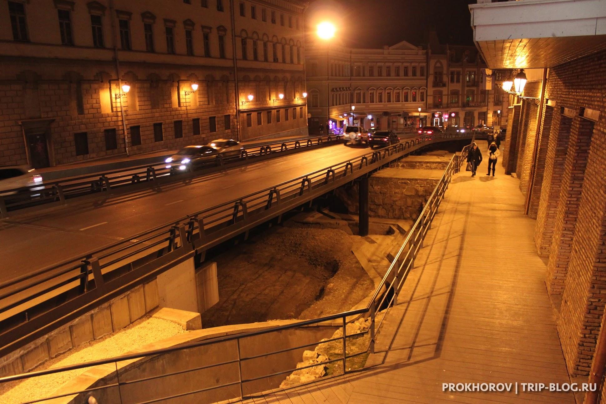 Остатки старой крепостной стены на ул. Пушкина