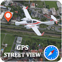 GPS Satellite View Navigation Maps & Compass icon