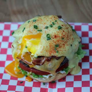 Eggs Benedict Brunch Burgers.
