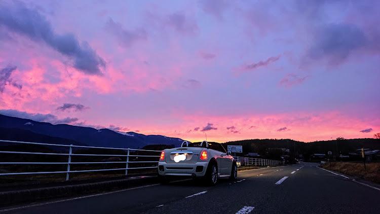 MINI ロードスター のドライブ,富士見町,茅野市,夕焼けコラボに関するカスタム&メンテナンスの投稿画像2枚目