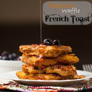 Pumpkin Waffle French Toast