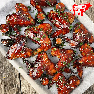 Sticky Teriyaki Chicken Wings