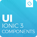 Ionic 3 Material Design UI Template - Blue Light icon
